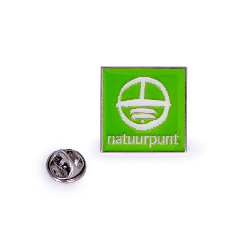 Natuurpunt logo pin