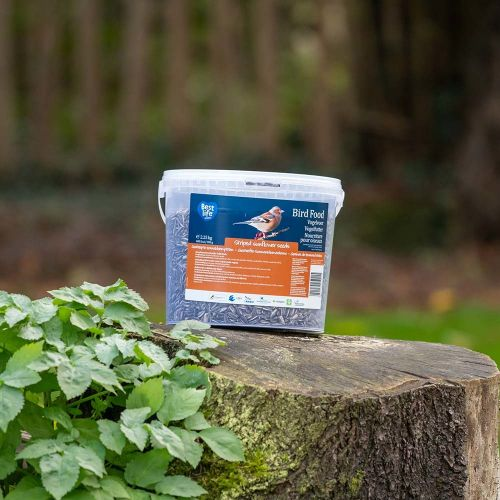 Gestreepte zonnebloempitten 2,25 kg (emmer)