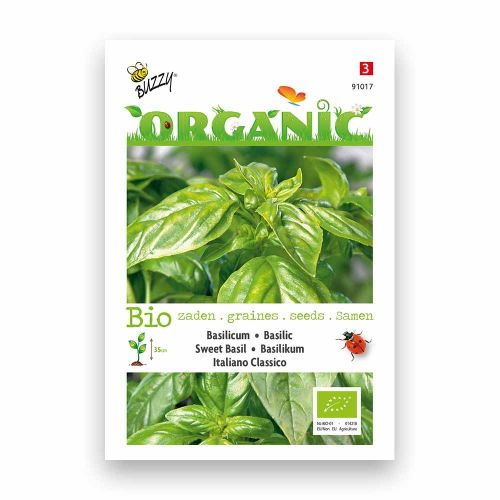Buzzy® Organic Basilicum - Italiano Classico  (BIO)
