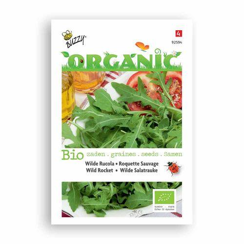 Buzzy® Organic Rucola Wilde Meerjarige  (BIO)
