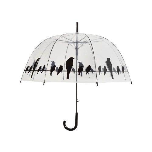 Paraplu met vogel silhouet