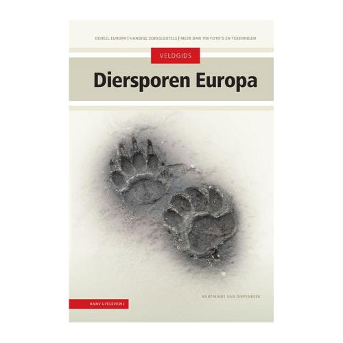 Veldgids Diersporen Europa nieuwe editie