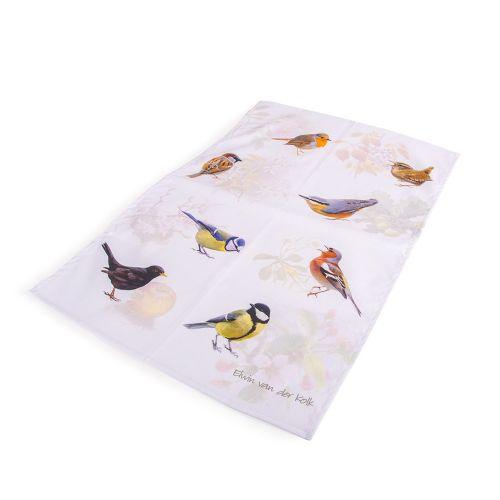 Keukenhanddoek Tuinvogels – Elwin van der Kolk