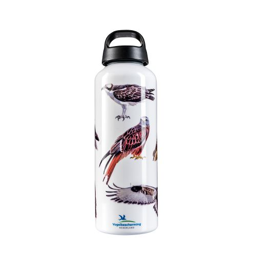 Laken drinkfles roofvogels