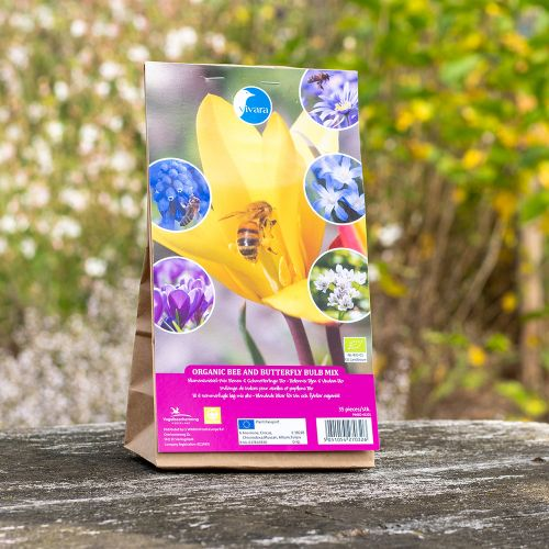 Biologische Bollenmix Bijen & Vlinders - 35 stuks