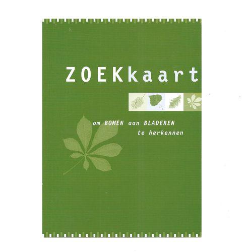 Zoekkaart - Bomen in blad