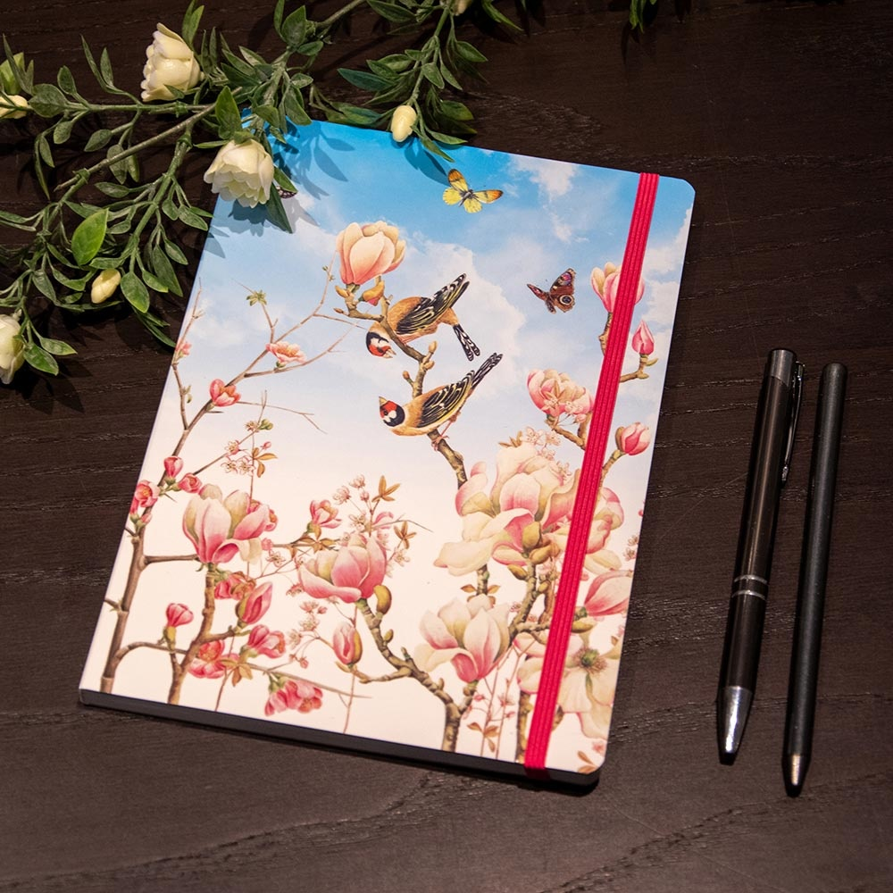 A5 Notitieboekje Magnolia