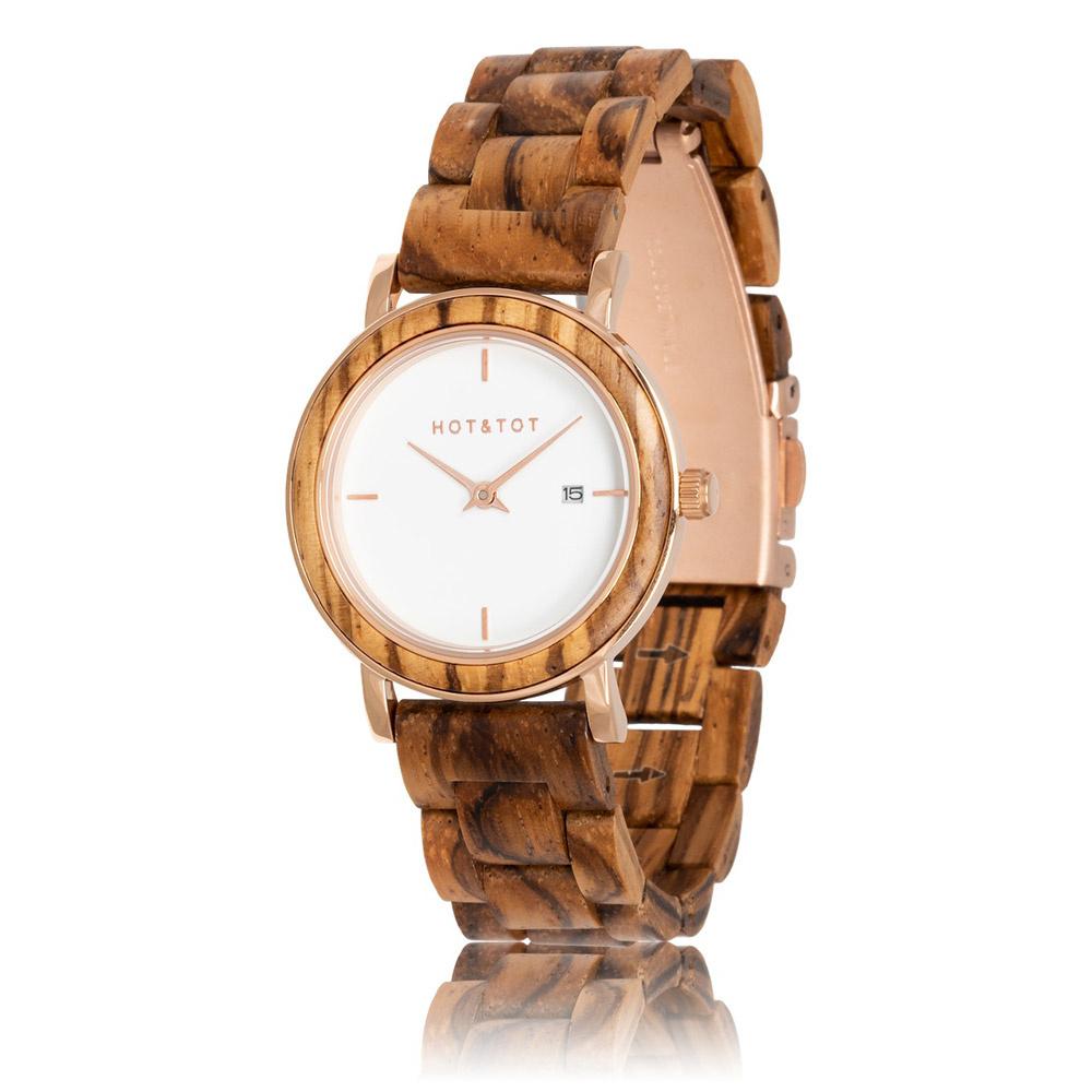 HOT&TOT Houten horloge Eos