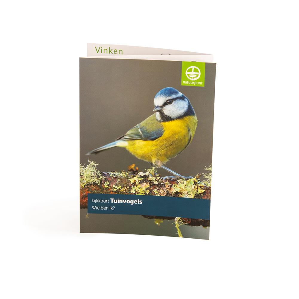 Kijkkaart tuinvogels