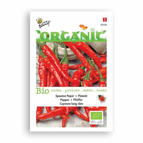 Buzzy® Organic Peper Cayenne long slim (BIO)