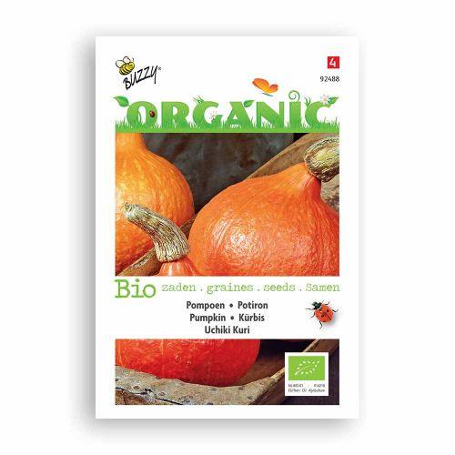 Buzzy® Organic Pompoen Uchiki Kuri  (BIO)