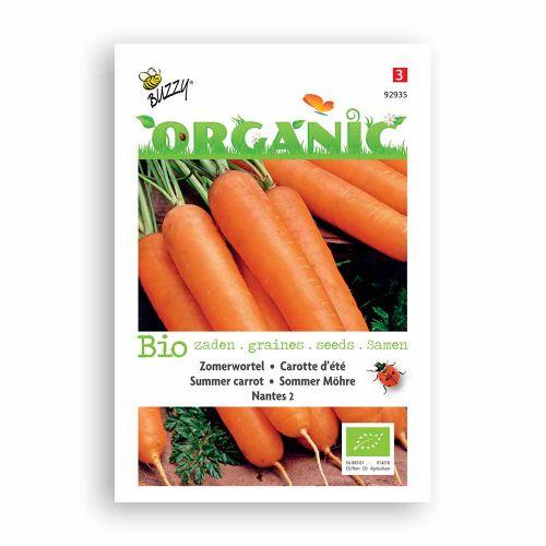 Buzzy® Organic Zomerwortelen Nantes 2  (BIO)