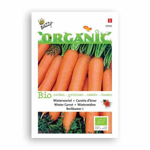 Buzzy® Organic Winterwortelen Berlikumer 2 (BIO)