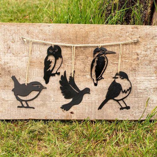 Metal Silhouettes mini Vogelset