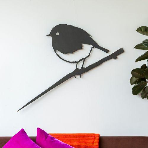 Metalbird roodborst XXL