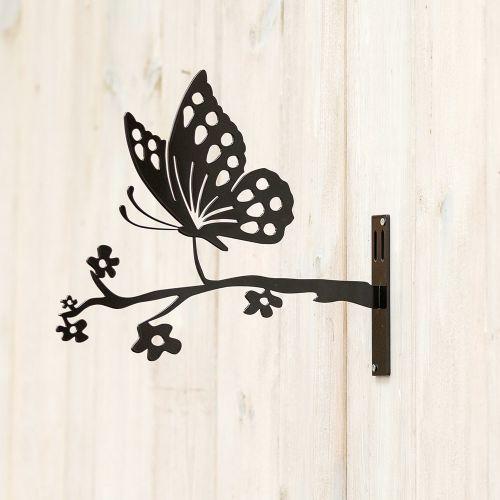 Metal Silhouette - Vlinder