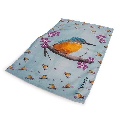 Keukenhanddoek IJsvogel – Myrte