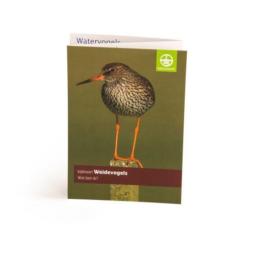 Kijkkaart Weidevogels