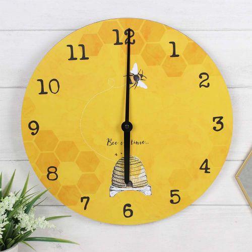 Klok 'Bee on time'