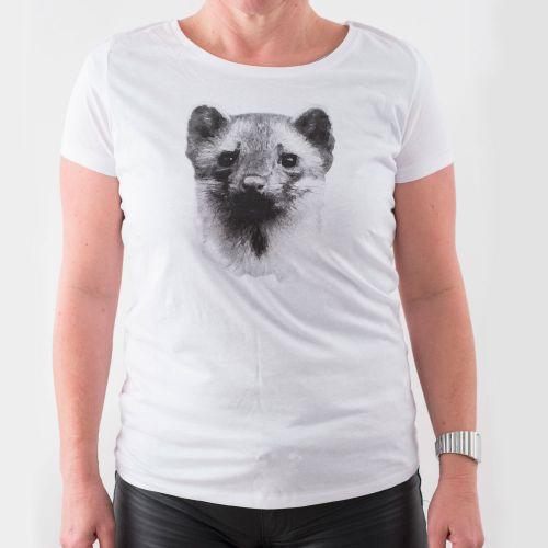 Natuurpunt T-shirt Steenmarter Dames