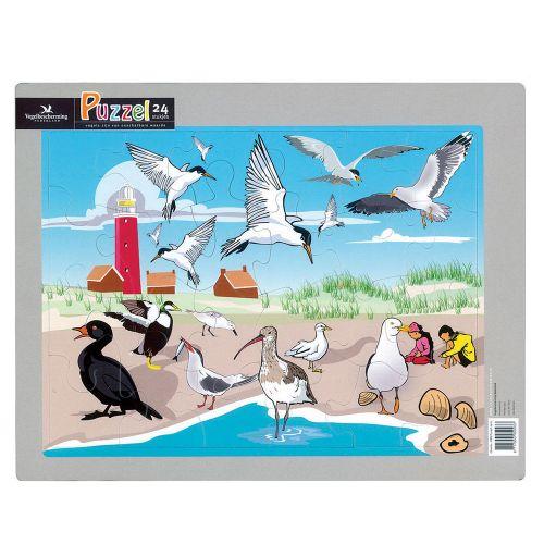 Kinderpuzzel set I strand/zee