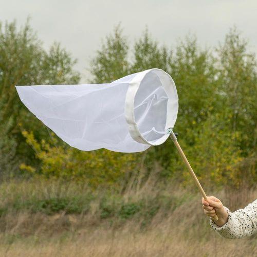 Vlindernet wit 30 cm - opklapbare beugel