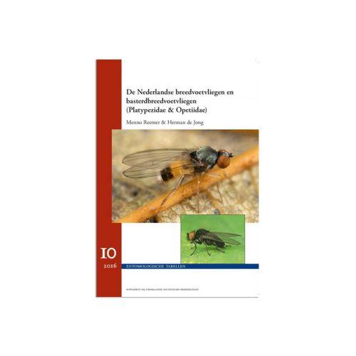 De Nederlandse Breedvoetvliegen - Entomologische Tabellen Volume 10