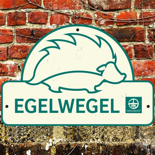 Bordje egelwegel
