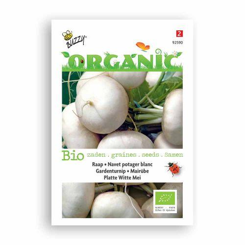 Buzzy® Organic Rapen Platte Witte Mei (BIO)