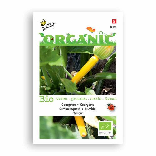 Buzzy® Organic Courgette Yellow (BIO)