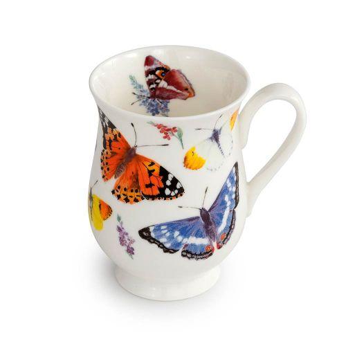Mok met vlinders