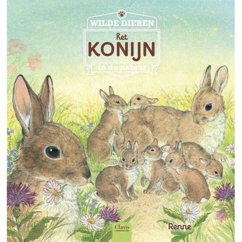 Het konijn - Wilde dieren in de natuur