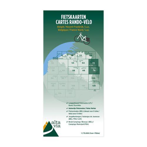 Fietskaart Nr. 7 Luik + Limburg