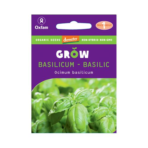 Oxfam Grow Basilicum