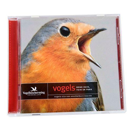 CD Vogels rond huis, in tuin en park