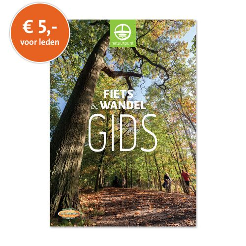 Fiets- en Wandelgids: 5 euro voor leden (eenmalig met kortingscode)