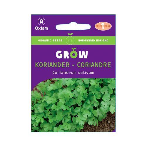 Oxfam Grow Koriander