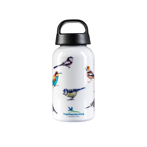 Laken drinkfles vogels