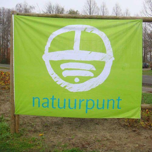 Grote vlag Natuurpunt