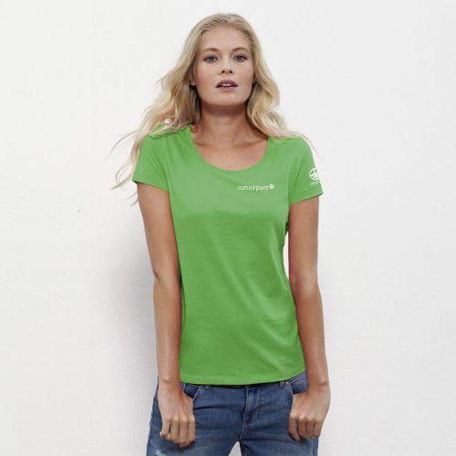 Natuurpunt T-shirt Groen Dames