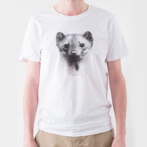 Natuurpunt T-shirt Steenmarter Heren