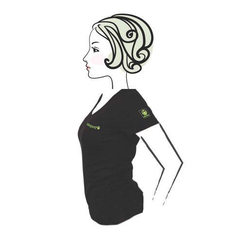 Natuurpunt T-shirt Black Dames
