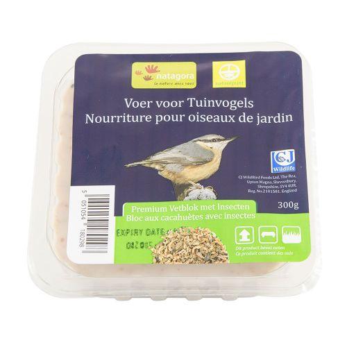 Premium vetblok met insecten