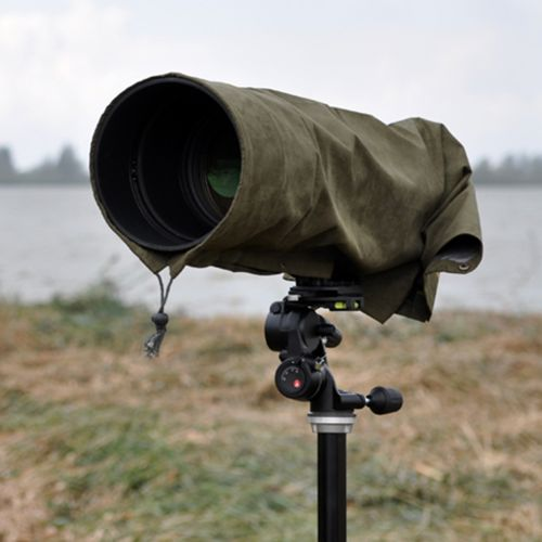 Stealth Gear Raincover Model RC-30-50 fits Canon/Nikon 300 mm F2.8 - Nikon 200-400 - Sigma 400 mm F4.5