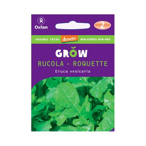 Oxfam Grow Rucola
