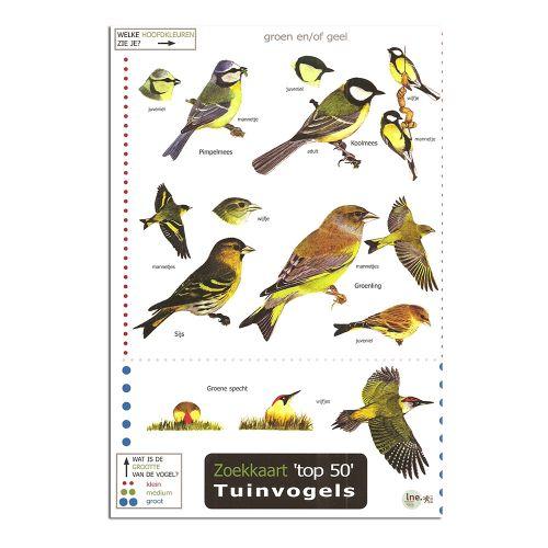 Zoekkaart LNE - Tuinvogels